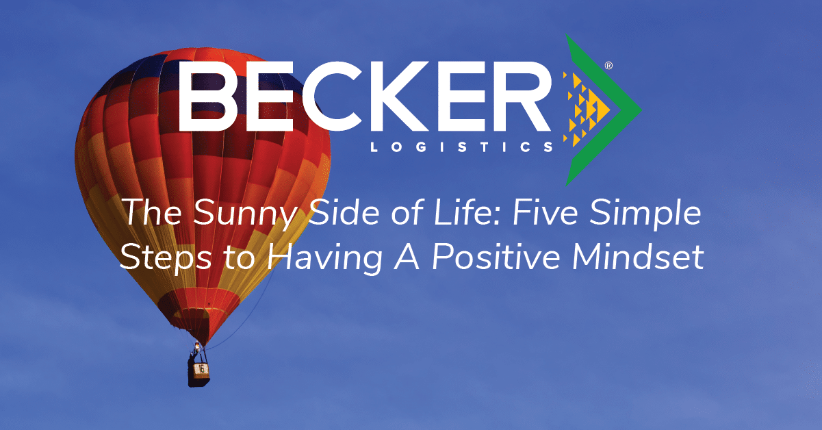 BLog cover photo for Becker Logistics Sunny Side of Life