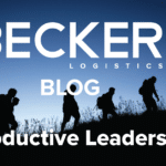 Group of hikers displaying productive leadership