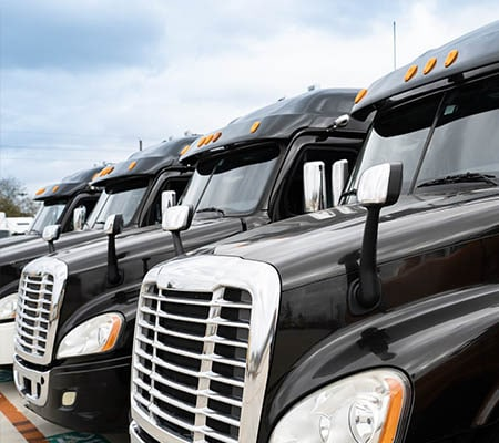 Fleet of trucks to provide a flexible 3PL solution