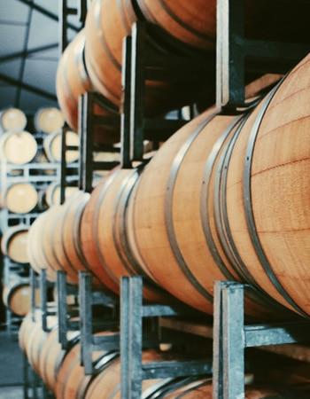 Alcohol logistics and storage in barrels