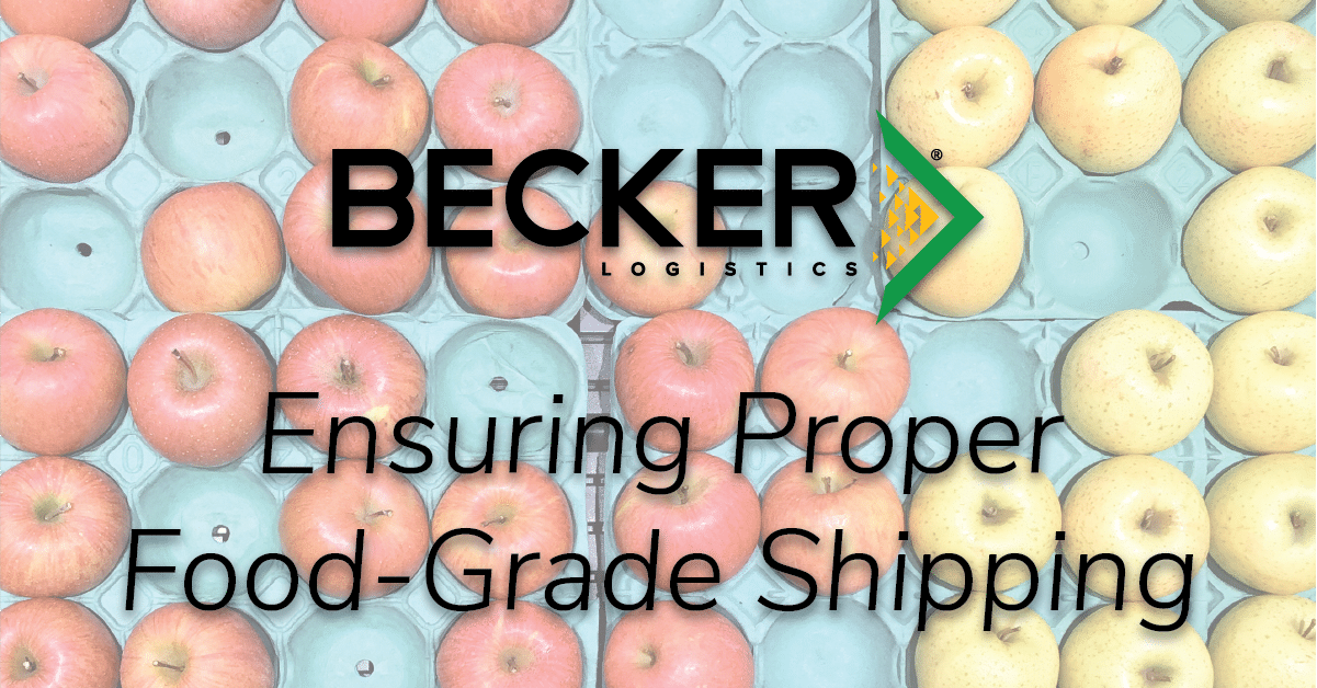 Ensuring Proper Food-Grade Shipping Cover Photo