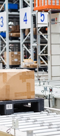 Expedited freight service ready to ship