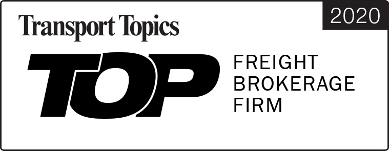 Top Freight Broker 2020 Award