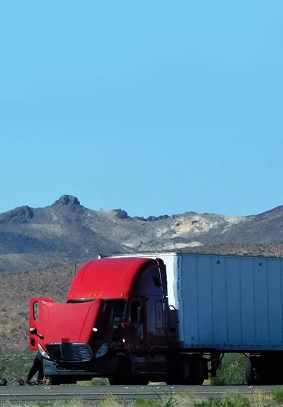 Broken Down Truck Freight Claim